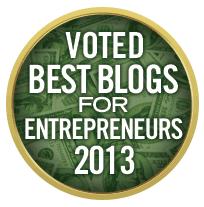 Best Entrepreneur Blog 2013